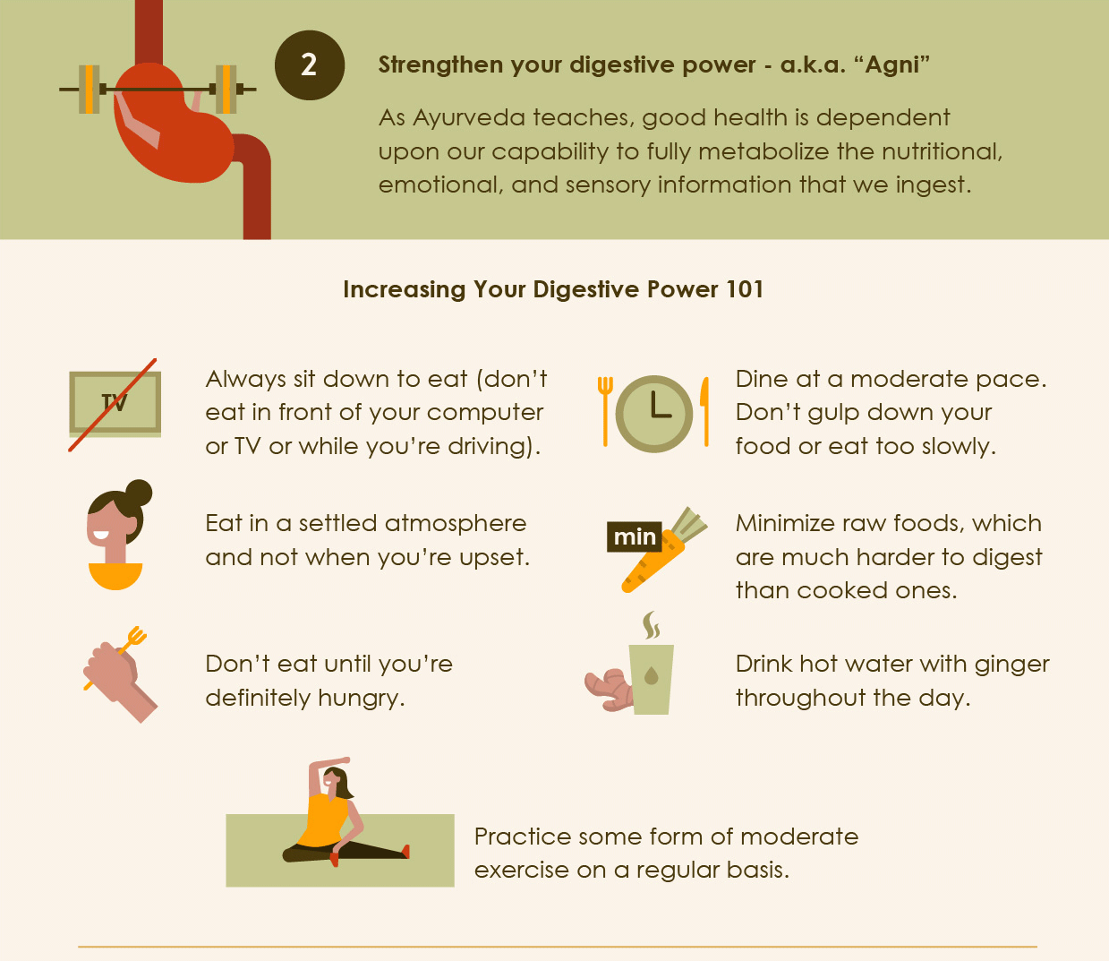 Increasing Your Digestive Power