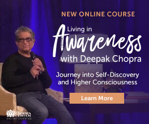 A new online course with Deepak Chopra