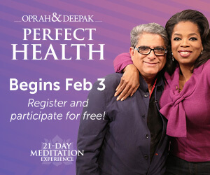 Perfect Health 21-Day Meditation