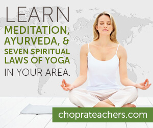 Learn Meditation , Ayurveda, and Seven Spiritual Laws of Yoga in Your Area