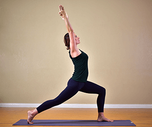 Crescent Lunge Yoga Pose