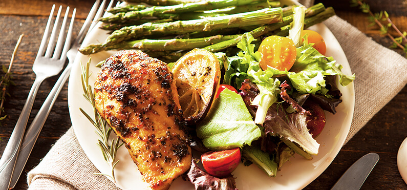 chicken with veggies