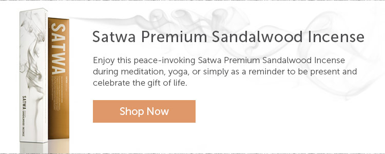 Satwa Sandalwood Incense